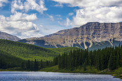 Alberta Lake Stock Photo