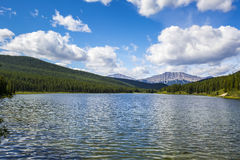 Alberta Lake Royalty Free Stock Photos