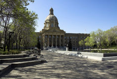 Alberta Legislature Royalty Free Stock Photo