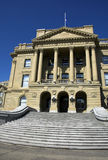 Alberta Legislature royalty free stock images