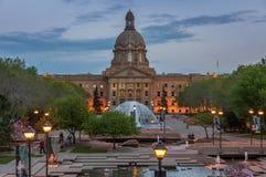Alberta Legislature imagens de stock