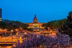 Alberta Legislature fotografia stock