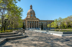 Alberta Legislature Building in Edmonton Stock Image