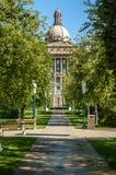 Alberta Legislature Building in Edmonton Stock Image