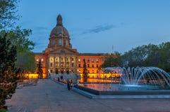 Alberta Legislature Royalty Free Stock Photography