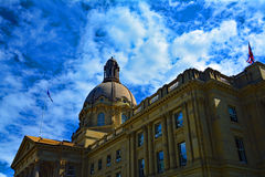 Alberta Legislature a Edmonton Fotografie Stock