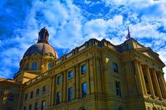 Alberta Legislature in Edmonton Royalty-vrije Stock Fotografie