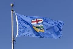 Alberta Province Flag, Canadá imagem de stock royalty free
