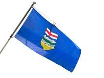 Alberta Provincial Flag stockbilder