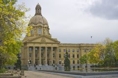 Alberta Provincial Legislature Royalty Free Stock Photography
