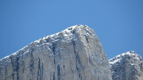 Alberta Rocky Mountain Tops Royaltyfria Bilder