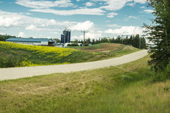 Alberta Rural landscape Royalty Free Stock Photos