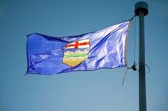 Alberta's Flag Royalty Free Stock Photography