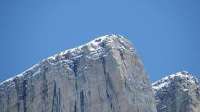 Alberta Skalistej góry wierzchołki Obrazy Royalty Free