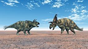 albertaceratops δεινόσαυρος διανυσματική απεικόνιση
