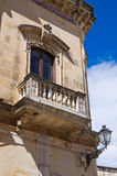 Alberti palace. Presicce. Puglia. Italy. Stock Photography