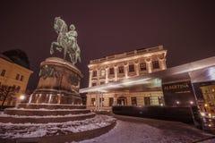Albertina - en konstmuseum i Wien Royaltyfri Bild