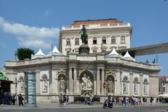 Albertina Museum à Vienne - en Autriche image libre de droits