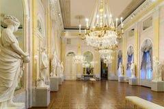 Albertina museum i Wien Arkivbild
