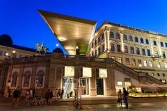 Albertina museum i Wien Royaltyfri Bild