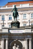 Albertina museum in Vienna, Austria Royalty Free Stock Photo