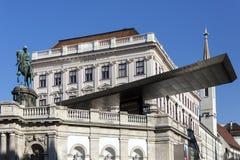 Albertina Museum - Wien - Österrike Arkivbild