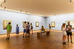 Albertina-Museum in Wien Lizenzfreies Stockbild