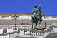 Albertina pałac muzeum Fotografia Royalty Free