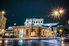 Albertina - um museu de arte em Viena fotografia de stock royalty free