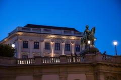 Albertina, Viena Foto de archivo