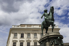 Albertina, Vienna Royalty Free Stock Photography