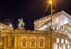 Albertina, Wenen stock afbeelding