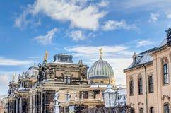 Albertinum mit dem Pheme in Dresden Lizenzfreie Stockbilder