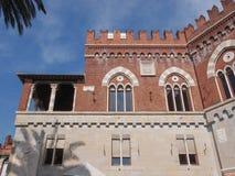 Albertis Castle in Genoa Italy Stock Image