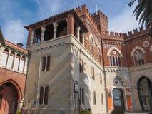 Albertiskasteel in Genoa Italy stock afbeelding