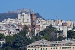 Albertiskasteel in Genua royalty-vrije stock fotografie
