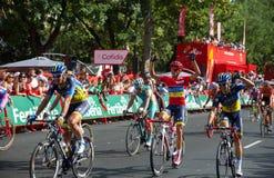 Alberto Contador Stock Photo