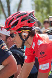 Alberto Contador chez le Vuelta 2012 Photo stock