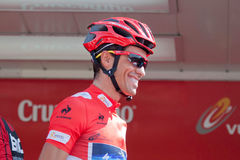 Alberto Contador chez le Vuelta 2012 photographie stock