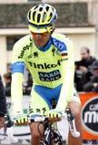 Alberto Contador Team Tinkoff - Saxo Royalty Free Stock Photography
