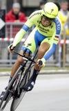 Alberto Contador Team Tinkoff - Saxo Stock Image