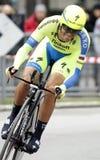 Alberto Contador Team Tinkoff - Saxo Stock Images