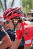 Alberto Contador at the Vuelta 2012 Stock Photo
