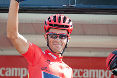 Alberto Contador at the Vuelta 2012 Stock Photos