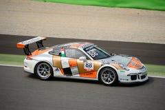 Alberto De Amicis, Porsche Carrera Cup 2015 at Monza Royalty Free Stock Photo