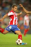 Alberto Lora of Sporting Gijon Royalty Free Stock Photo
