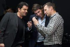 Alberto Tomba, Rafael Nadal e Andriy Shevchenko Fotos de Stock Royalty Free
