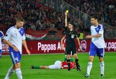 Alberto Undiano Mallenco referee royalty free stock image