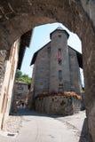 Albertville medieval town Stock Photo