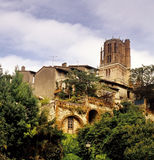 Albi. France Tarn cathedrale st cecile Royalty Free Stock Images